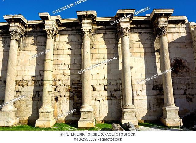 Hadrian's Library, Monastiraki, Athens, Greece