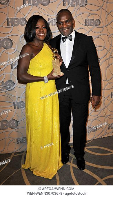 HBO Golden Globe After Party 2017 - Arrivals Featuring: Julius Tennon, Viola Davis Where: Los Angeles, California, United States When: 09 Jan 2017 Credit:...