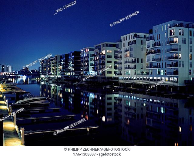 Frankfurt Westhafen Marina, Germany
