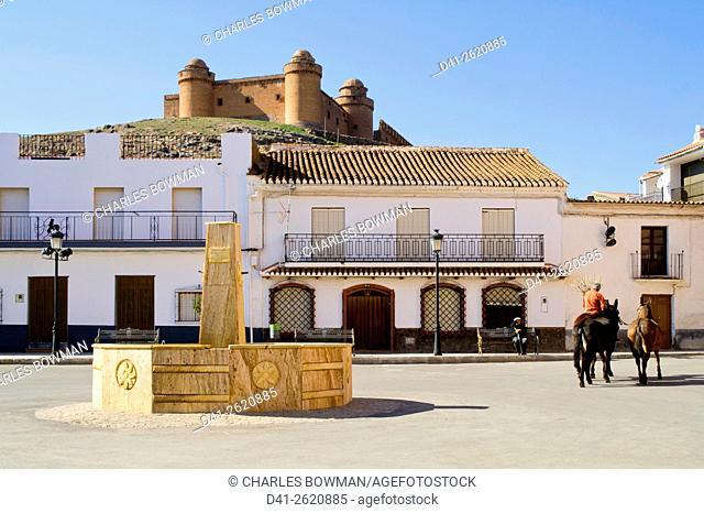 Europe, Spain, Andalucia, La Calahorra castle
