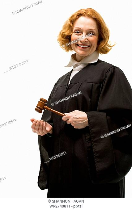 Portrait of a female judge