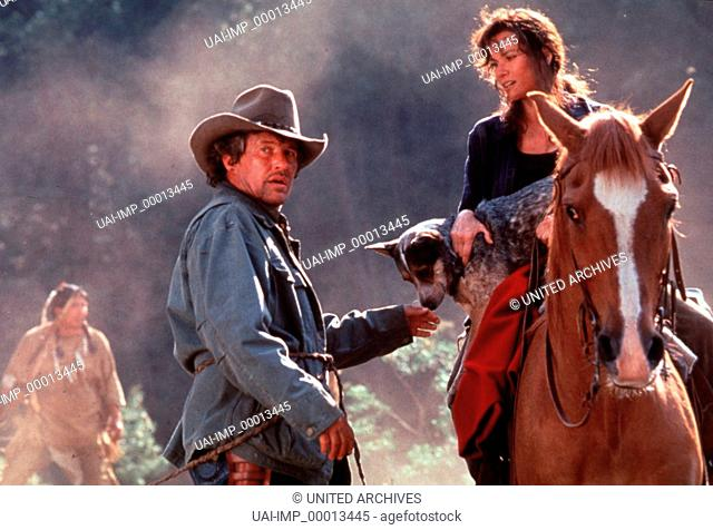 Das Tal der letzten Krieger, (LAST OF THE DOGMEN) USA 1994, Regie: Tab Murphy, TOM BERENGER, BARBARA HERSHEY, Stichwort: Pferd, Hund, Reiten