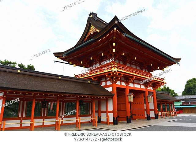 Fushimi-Inari Taisha Shrine, Japan, Asia