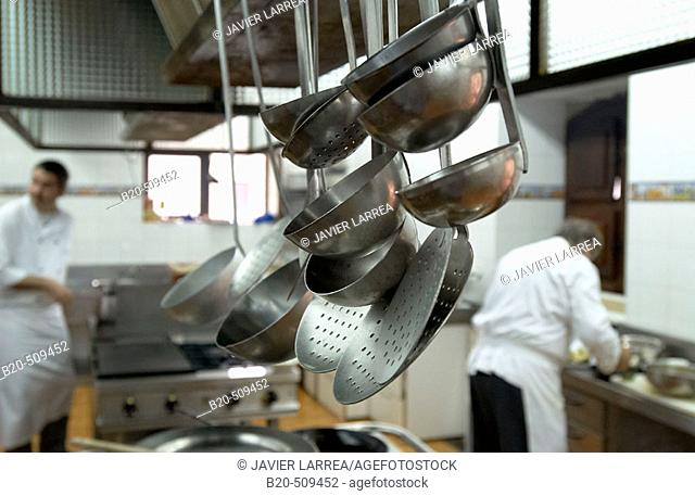 Kitchen. Gastronomical Society, Donostia, San Sebastián, Gipuzkoa, Euskadi. Spain