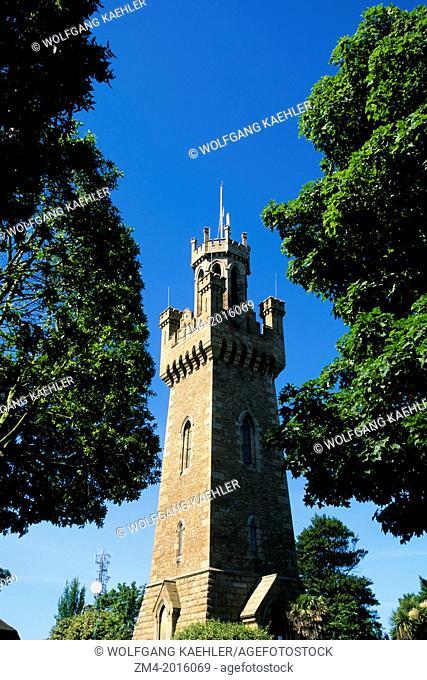 UK, CHANNEL ISLANDS, GUERNSEY, ST. PETER PORT, TOWER (MEMORIAL)