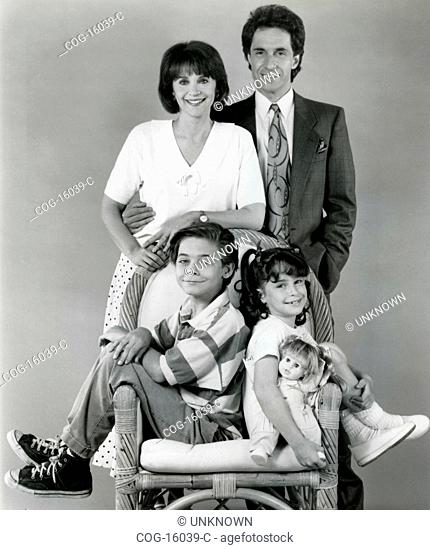 Cindy Williams and Bill Hudson in the TV series Just Like Family, USA 1989