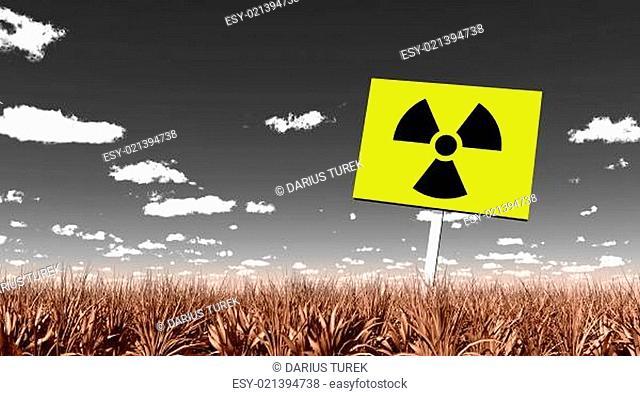 Radioaktiv verseuchtes land 01