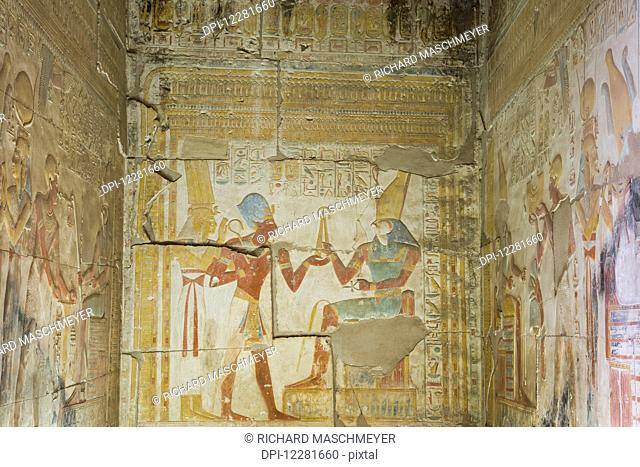 Temple of Seti I; Abydos, Egypt