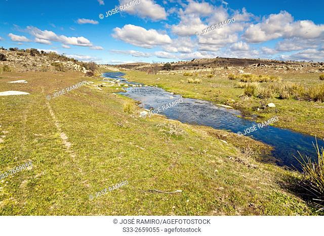 Villapalos stream. San Pablo de los Montes. Toledo. Castilla la Mancha. Spain. Europe
