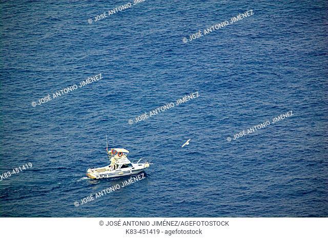Fishing boat. Costa del Sol, Andalusia, Spain