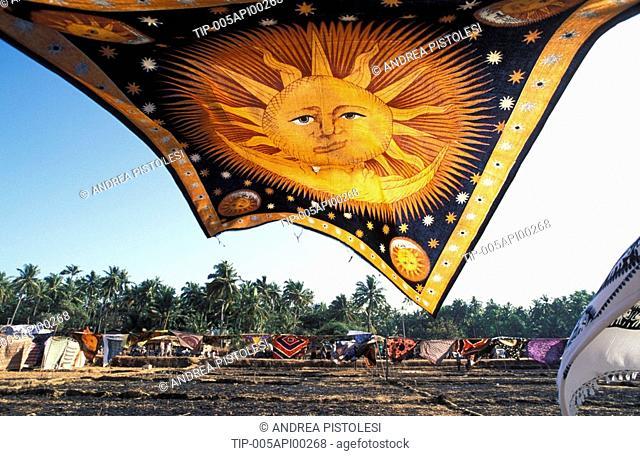 India, Goa, Anjuna Flea Market