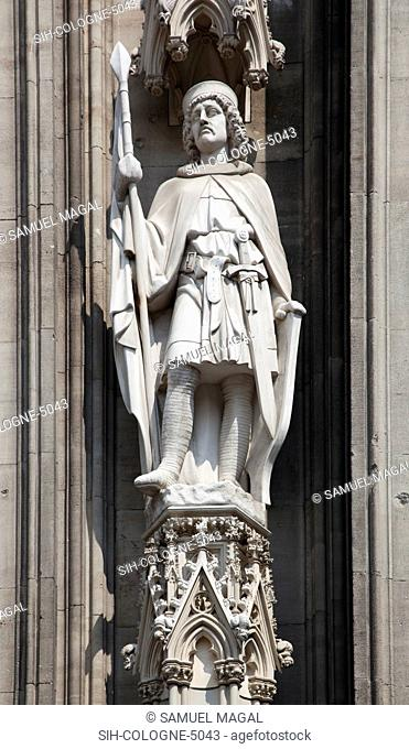 Cologne Cathedral was built was built to house the relics of the Three Magi, under the direction of Archbishop Conrad von Hochstaden