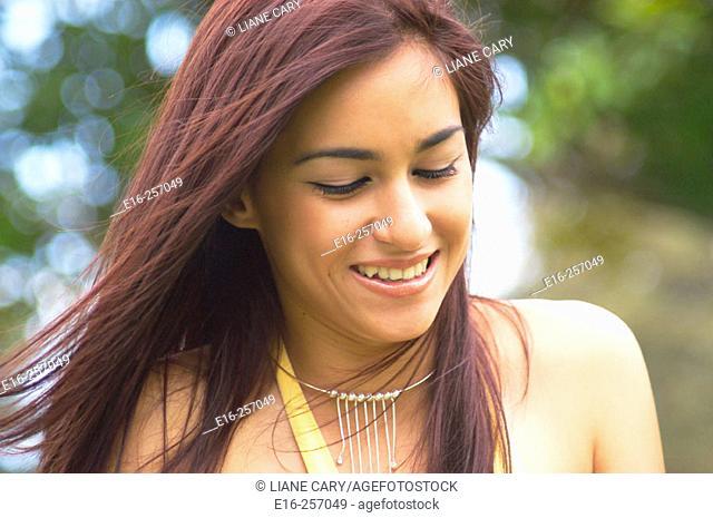 Latin teenager