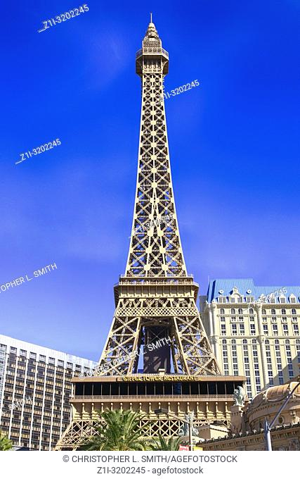 The Eiffel Tower in Paris Las Vegas, Nevada