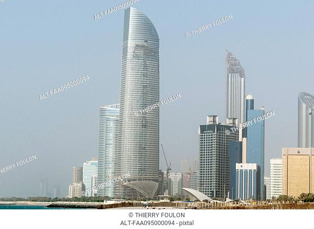 Modern skyscrapers, Dubai, United Arab Emirates