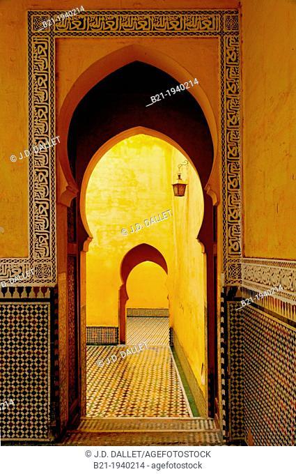 Mausoleum of Moulay Ismaïl, Meknes, Morocco