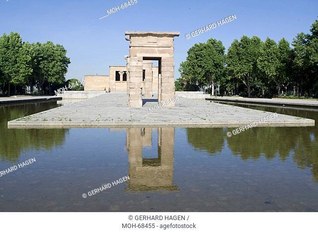 Madrid, Parque del Oeste, Templo de Debod