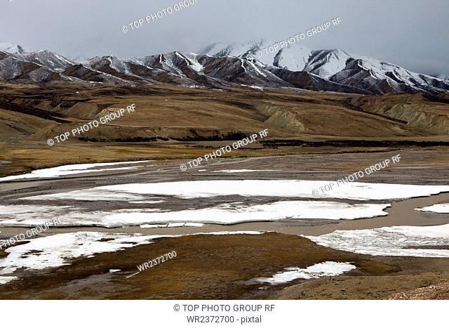 Qinghai Province 317 National Road