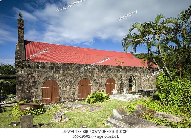 St. Kitts and Nevis, Nevis, Church Ground, St. John's Fig Tree Church