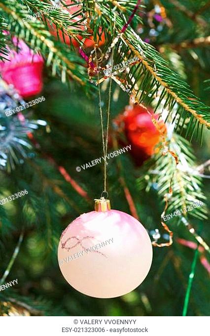 glass balls christmas decoration