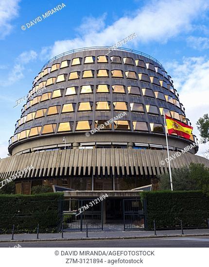 Tribunal Constitucional. Madrid, Spain