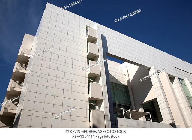 Facade of MACBA Contemporary Art Museum in Barcelona, Catalonia, Spain