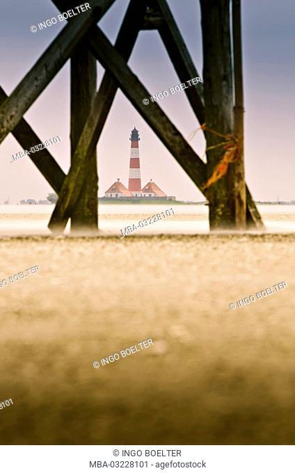 Germany, Schleswig-Holstein, North Frisia, Eiderstedt, Saint Peter-Ording, beach