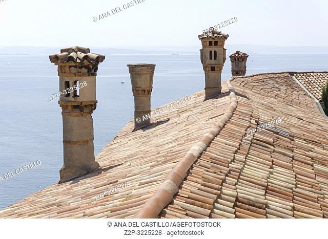 Duino castle Duino-Aurisina, Friuli-Venecia Julia in Trieste Italy
