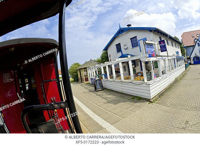 Molli Bahn, Molli Railway, Narrow-gauge steam-powered, Bad Doberan, Rostock, Germany, Europe