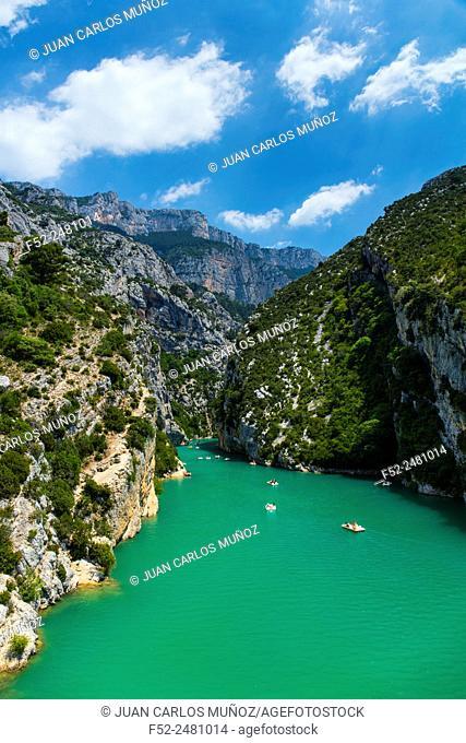 Sainte Croix Lake, Gorges du Verdon Natural Park, Alpes Haute Provence, France, Europe