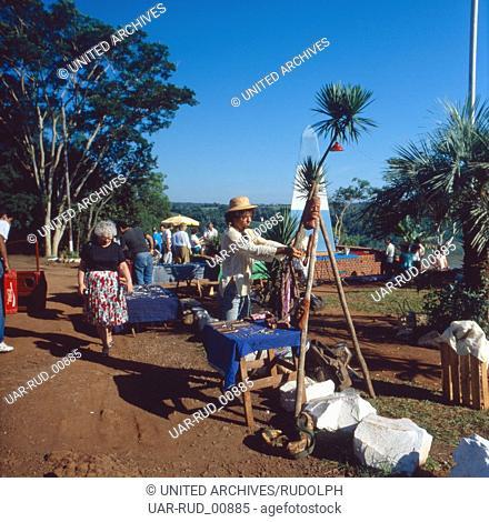 Eine Reise nach Brasilien, 1980er Jahre. A trip to Brazil, 1980s