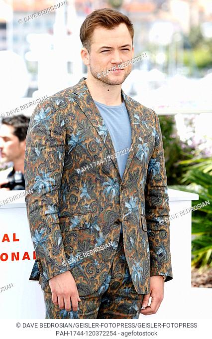 Taron Egerton at the 'Rocketman' photocall during the 72nd Cannes Film Festival at the Palais des Festivals on May 16, 2019 in Cannes, France | usage worldwide