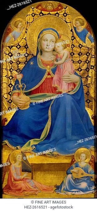 The Virgin of Humility. Artist: Angelico, Fra Giovanni, da Fiesole (ca. 1400-1455)