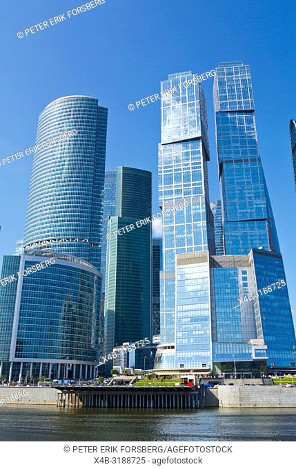 City of Capitals buildings, MIBC, Moscow International Business Center, Moscow City, Moscow, Russia