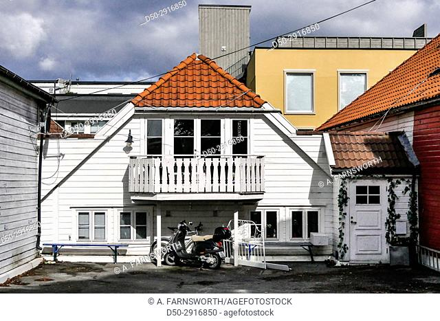 STAVANGER, NORWAY Quaint downtown