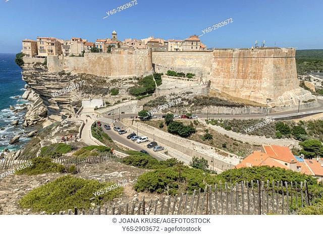 Ville Haute, Bonifacio, Corsica, France