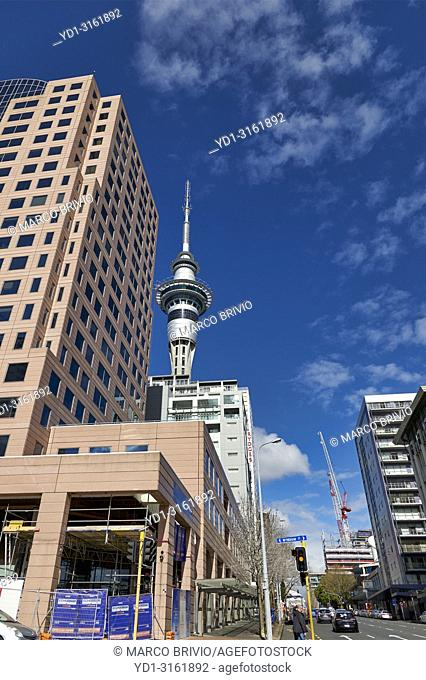 Auckland New Zealand. The Sky Tower