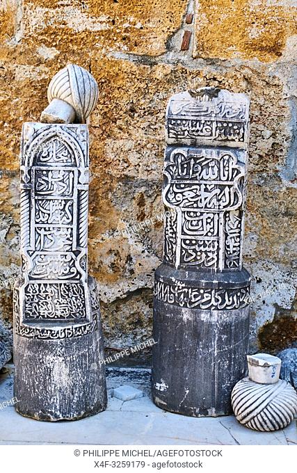 Turkey, Izmir province, Selcuk city, archaeological site of Ephesus, Isa Bey mosque