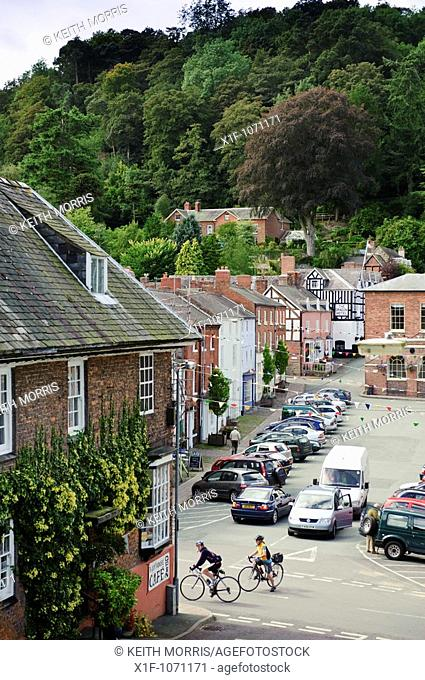 Montgomery town centre, Powys, on the wales england border, UK