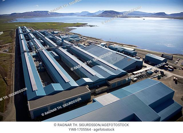 Nordural Aluminium Smelter, Hvalfjordur, Iceland
