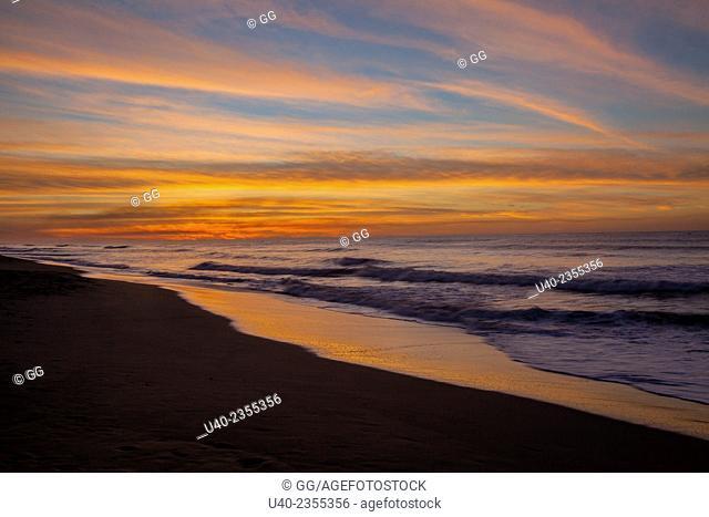Guatemala, Sunrise, El Paredon beach