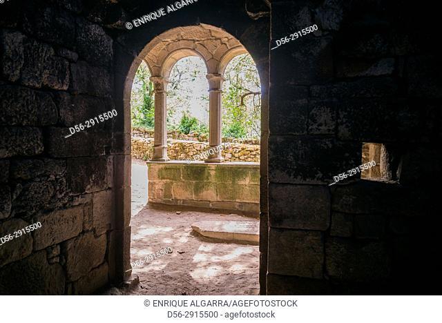 Santa Cristina de Ribas de Sil Monastery. Parada de Sil, Galicia, Spain