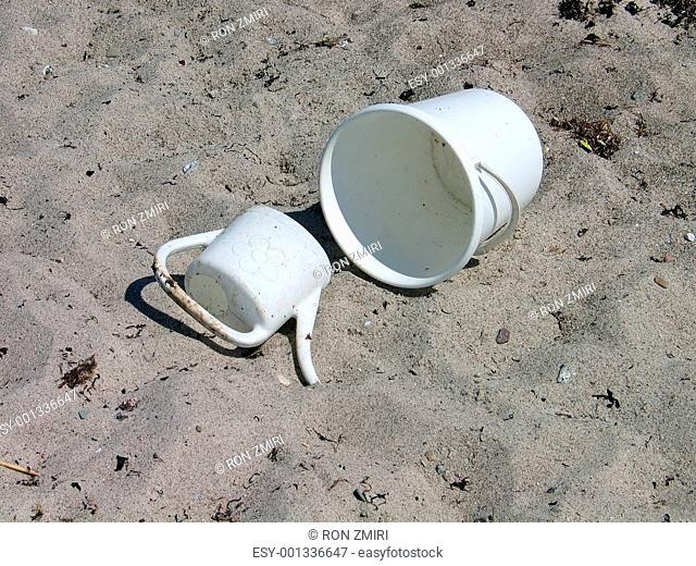 Beach fun - bucket and shovel