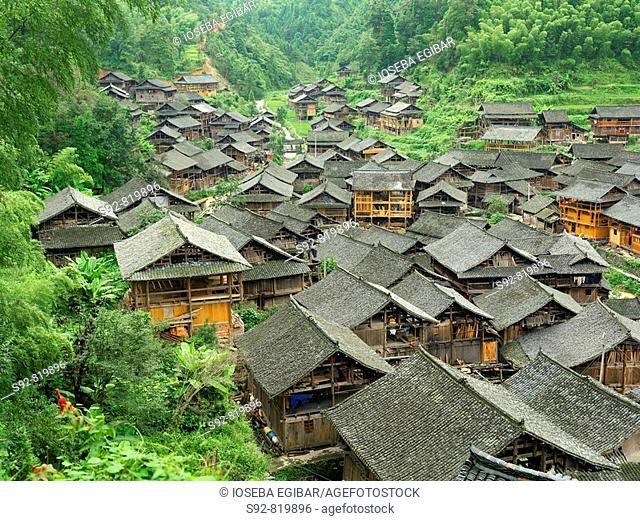 Rural village, China