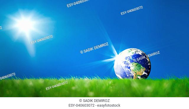 Light beam world map Stock Photos and Images | age fotostock