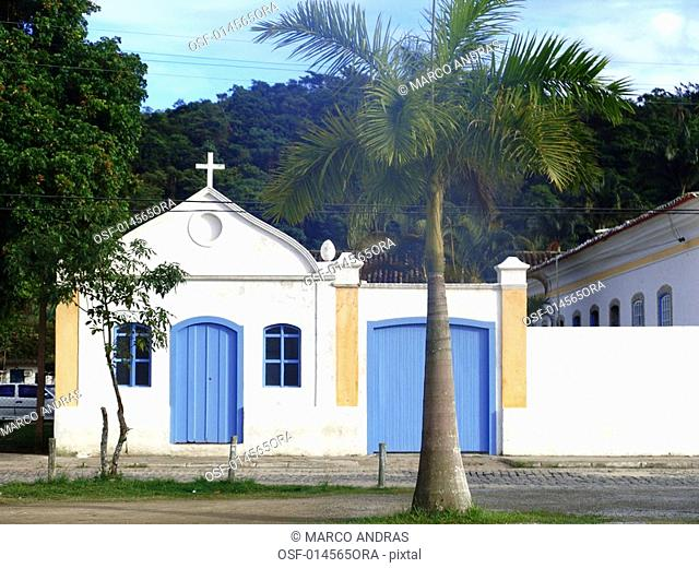 a sacred temple church at paraty