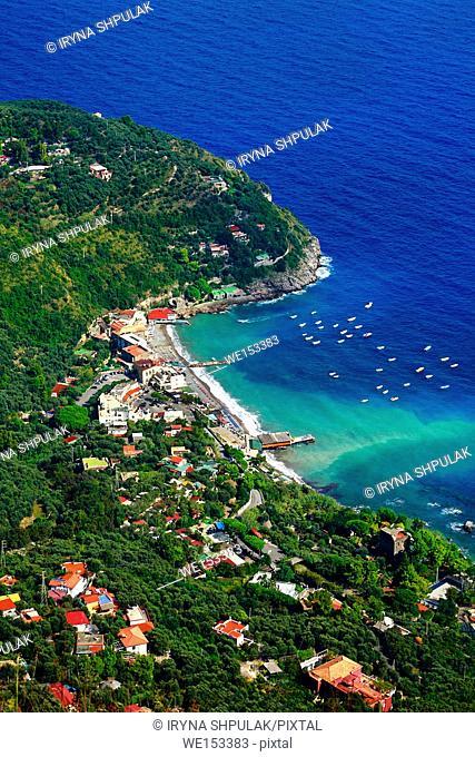 Marina del Cantone, Peninsula of Sorrento, Campania, Italy