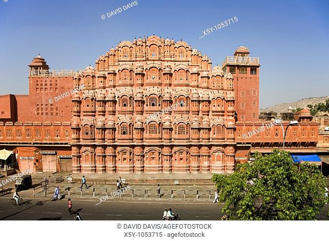 Hawa Mahal Palace of Winds Jaipur Rajasthan India