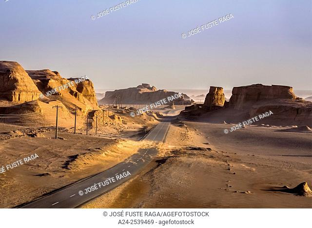 Iran, Near Kerman City, Kalout region