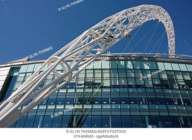 The new Wembley Stadium, London, England, UK